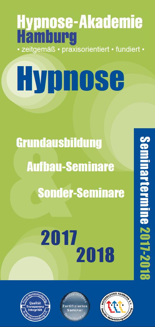 Flyer mit den Terminen für 2017 - 2018