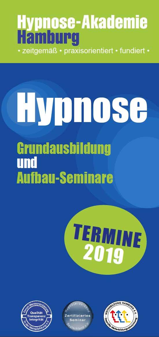 Hypnose-Akademie: Terminflyer 2019